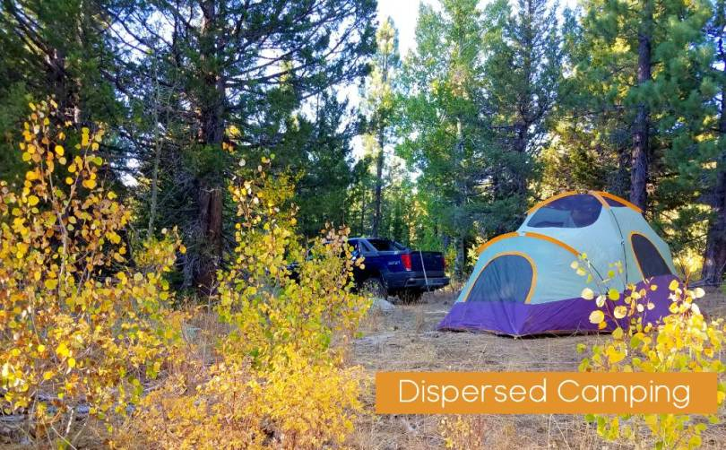 Alpine County dispersed Camping