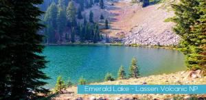Emerald Lake Lassen Volcanic