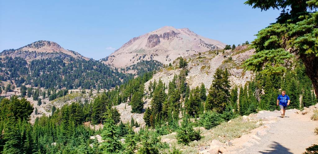 Lassen Peak and trail