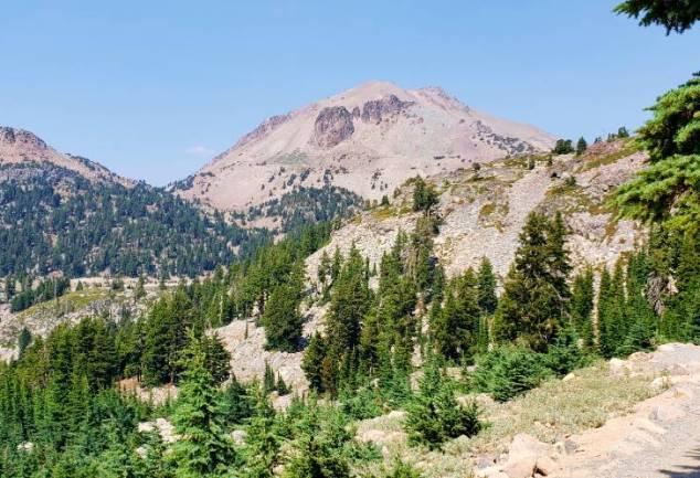 Lassen Peak and trail