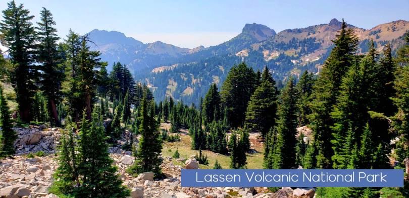 Lassen volcanic National Park brokeoff mtn