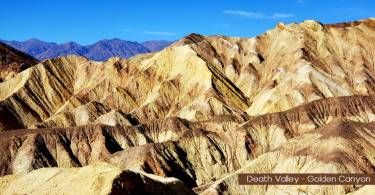 Golden Canyon death valley