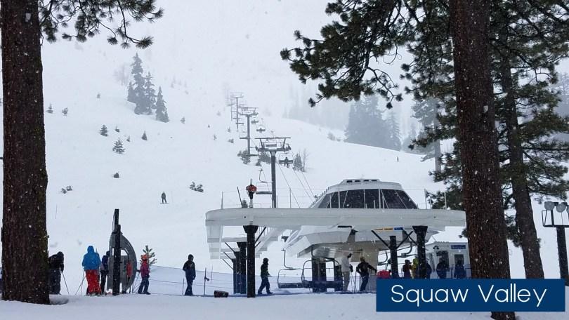 Squaw Valley ski lift
