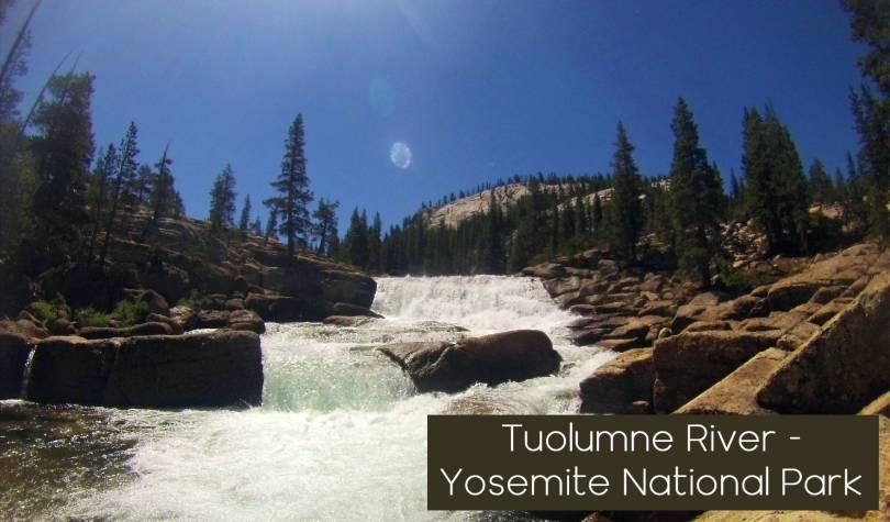Tuolumne river Yosemite