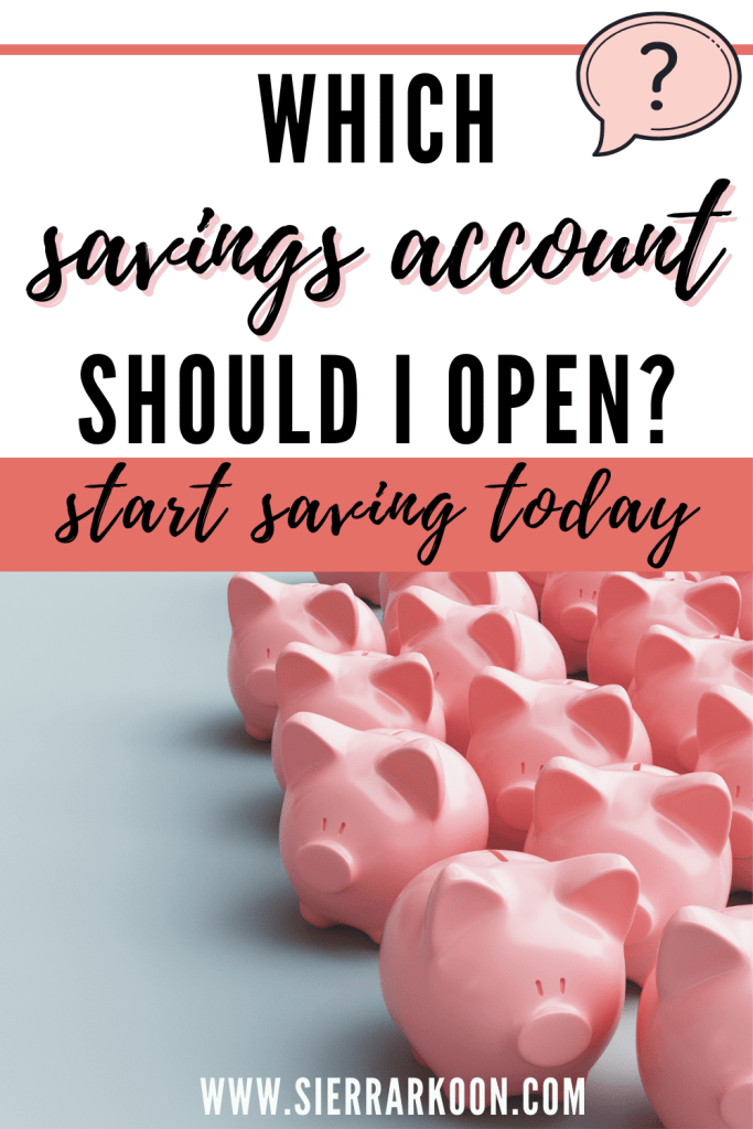 which savings account should i open