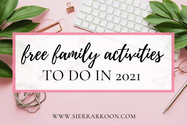 free family activities