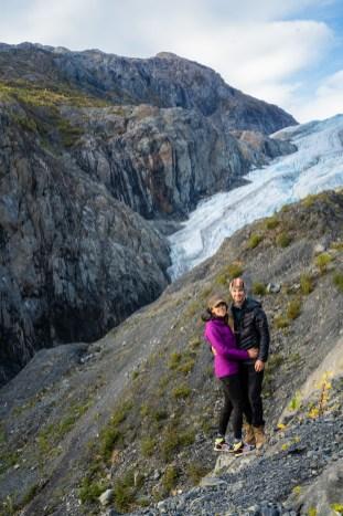 Exit Glacier has receded a lot since I was last here