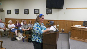 Suzi Dennett, Death Valley Chamber of Commerce President, spoke of the major loss of business revenue and  lack of consideration by DVNP staff in coming up with new rules for special events.