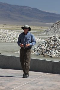 Ted Schade, former Great Basin Air Pollution Control Officer, attended the meeting and tour as a private citizen, voicing his approval of the new State Implementation Plan.