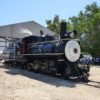 C&C Leave Barn: In July 2017, the Slim Princess made her inaugural run out of the Larry Peckham Engine House at the Eastern California Museum. Eastern California Museum photo.