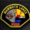 Mammoth Lakes Fire District badge