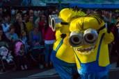 Главное шествие карнавала на Тенерифе в 2016 году — миньоны
