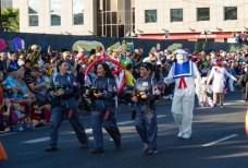 Главное шествие карнавала на Тенерифе в 2016 году — охотники за привидениями