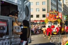 Карнавал на Тенерифе — машины музыкальных ансамблей