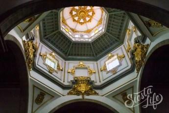 Купол церкви в Канделарии