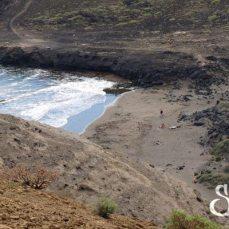 Общий вид на пляж Монтанья Пелада