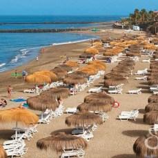 Общий вид на Пляж Дель Дуке