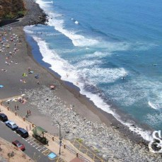 Общий вид на пляж де Эль Сокорро
