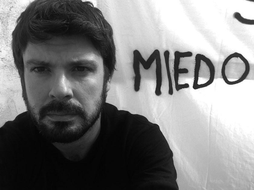 """El """"selfie"""" que nos dedica Miguel Ángel Benjumea"""