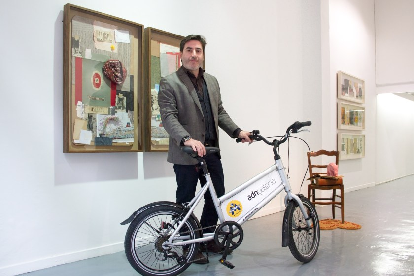Miguel Ángel Sánchez, director de ADN, una de las firmas impulsoras de Art Bike Tour