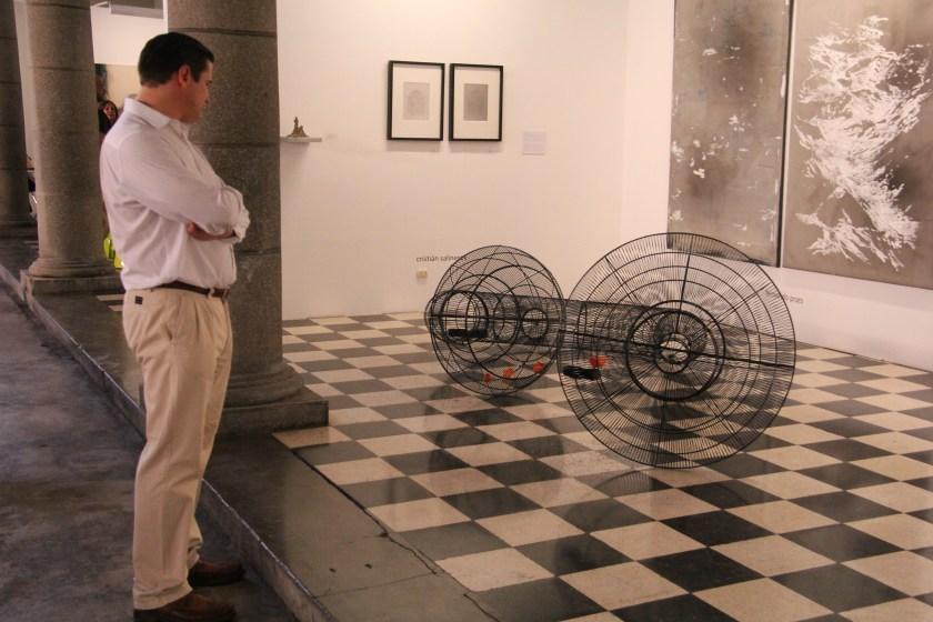 """""""Pajaródromo"""" de Cristian Salineros en Patricia Ready"""