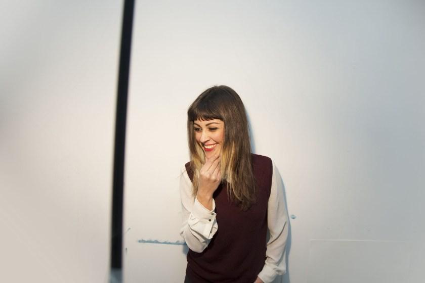 """Autorretrato o """"selfie"""" de Ana Barriga para """"Darán que hablar"""""""