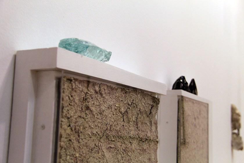 Detalle de una de las obras de Ione Ixadaba en ATM