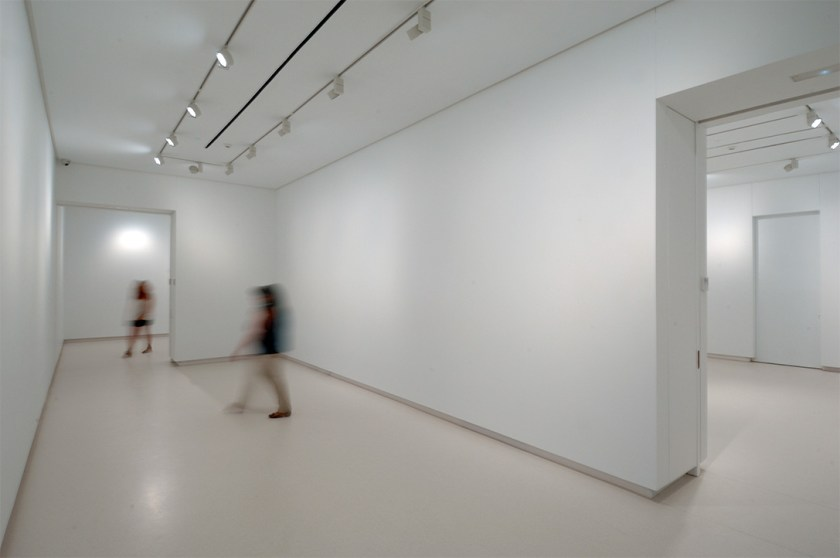Detalle de las salas de la nueva galería