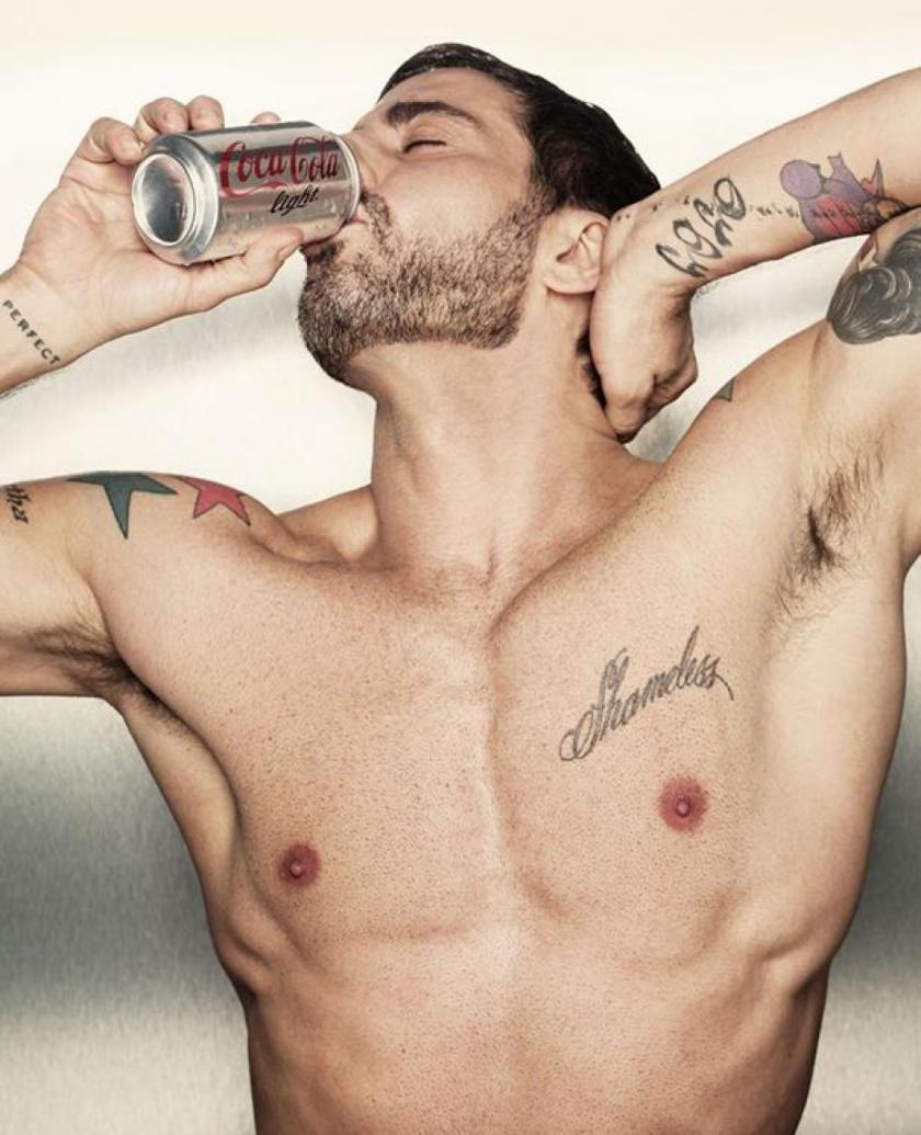 Marc Jacobs en el panteón de los chicos Coca-Cola