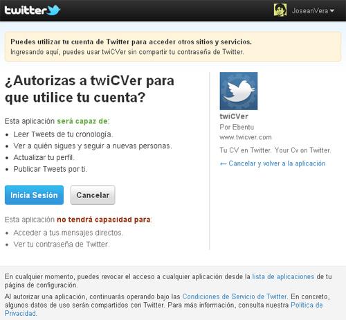 Twicver te permite hacer tu CV en tan solo 10 tweets (3/6)