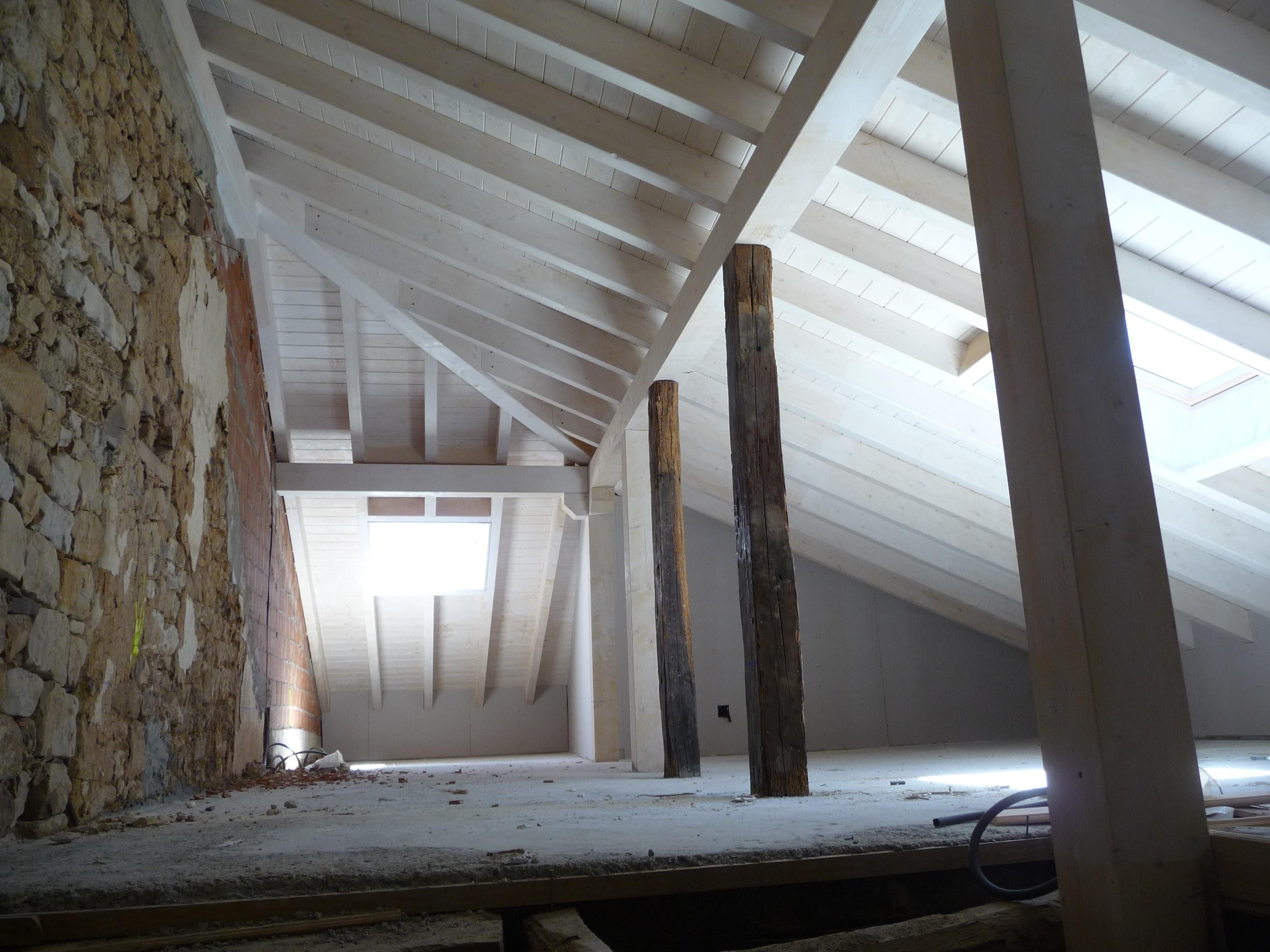 sietequince proyecto rehabilitación obras bajo cubierta