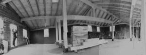 Cubierta de estructura de madera Casa 4 estaciones