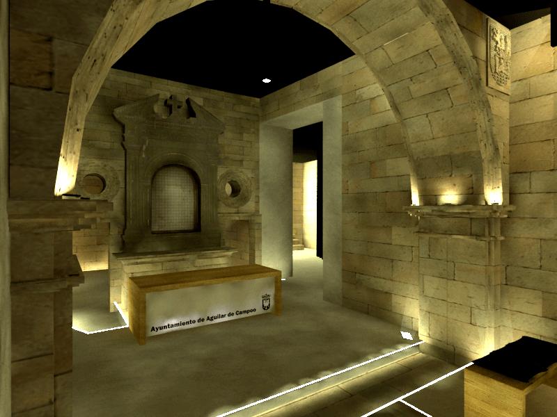 sietequince proyecto rehabilitación ermita altar