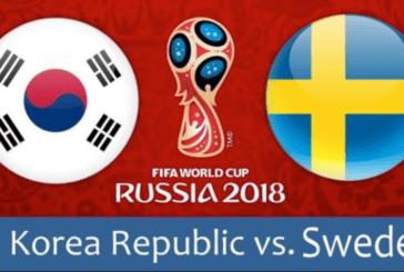 Nhận định Thụy Điển vs Hàn Quốc, 19h00 ngày 18/6: Bảng F World Cup 2018