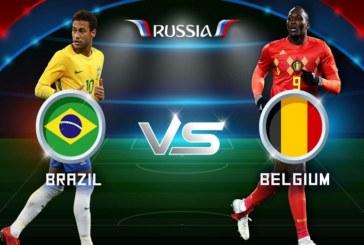 Tỷ lệ cược Brazil vs Bỉ, 1h00 ngày 07/07 World Cup 2018