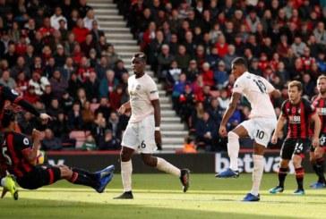 Những điểm đáng chú ý trong trận đấu Bournemouth 1-2 Man United