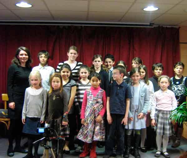 Fête de la musique 2008 - photo de classe