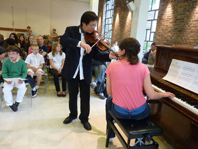 Fête de la musique 2010 - Duo piano violon