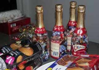 Des bonbons pour le téléthon 2010