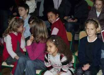 Enfants, public, téléthon 2010