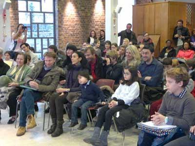 Public du concert de Noel 2012