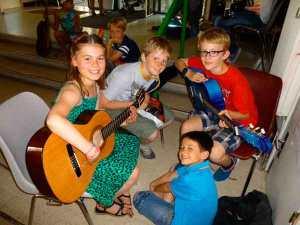 Cours collectifs de guitare
