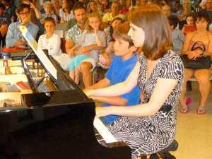 Piano prof élève