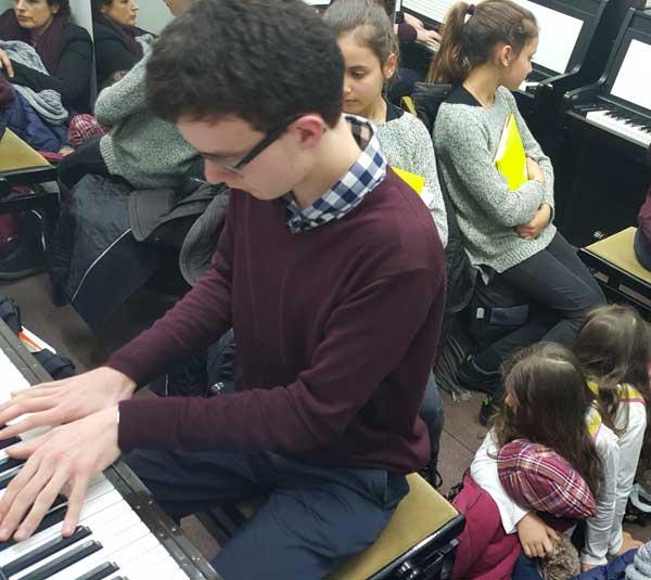 Répétition de Piano