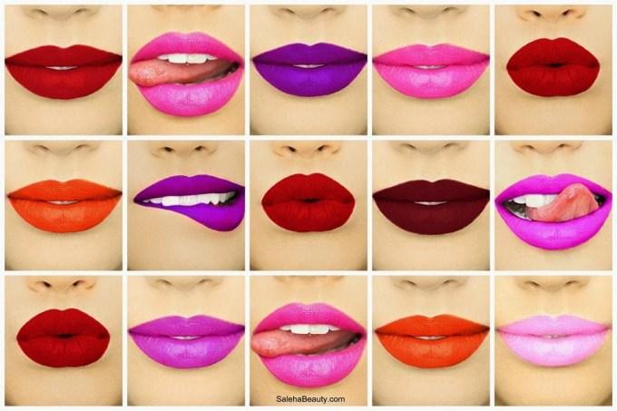 Review: Saleha Lipsticks