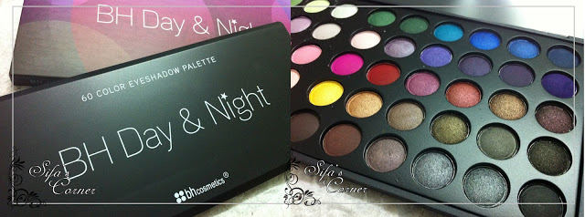 REVIEW: 60 color Day & Night palette by BH cosmetics