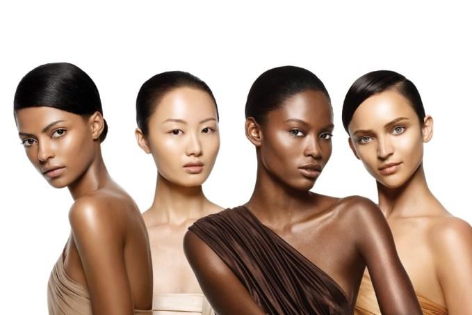 The Perfect Human Face: Light skin vs Dark skin