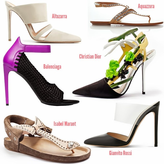 Spring Summer Shoe Trends of 2014