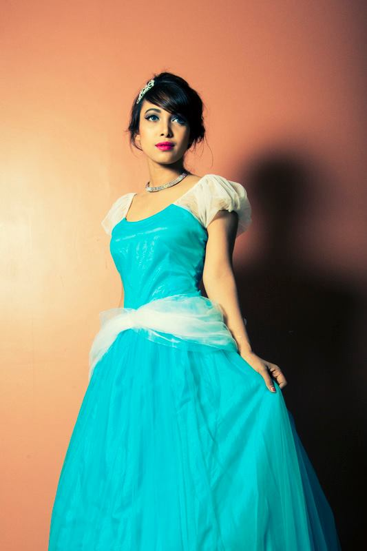 Disney princess Cinderella inspired makeup and hair