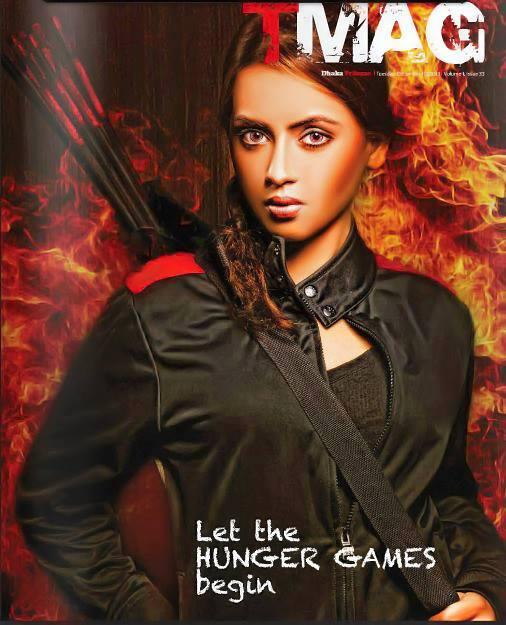 """Hunger Games' """"Katniss Everdeen"""" inspired makeup and hair"""